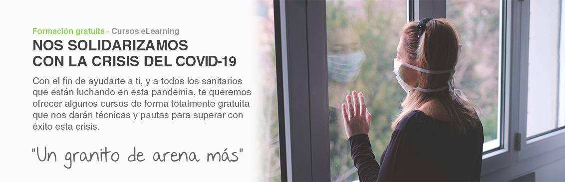 Nos solidarizamos con la crisis del COVID-19 con cursos gratis