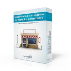 Implantación y animación de espacios comerciales